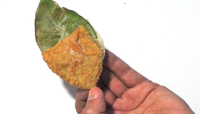 receta de follas de limón de Entroido