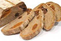 Receta de pan integral con reciclaje navideño