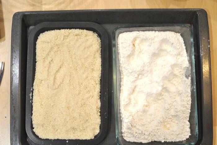 Tostar harina para hacer polvorones
