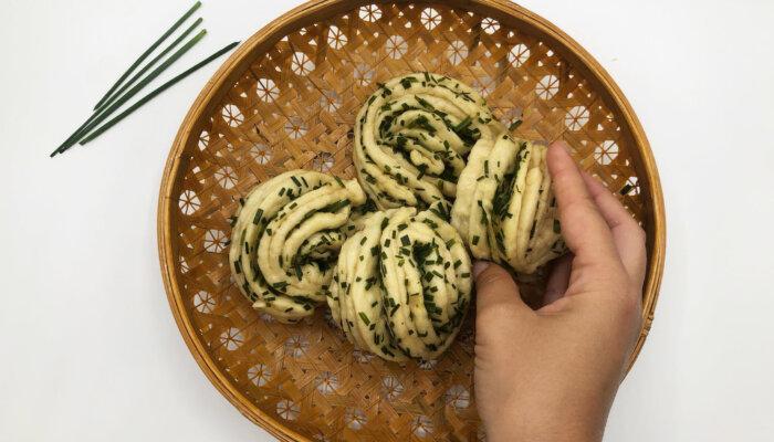 Flores de pan chino