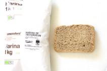Pan de tritordeum en panificadora