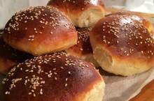 Cómo hacer pan de hamburguesa casero