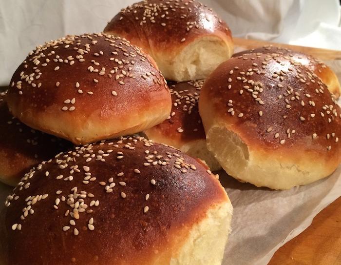 Como hacer pan de hamburguesa casero receta paso a paso - Como hacer membrillo casero ...