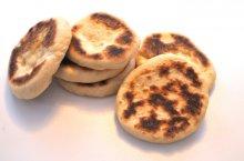 Receta de bazlama, panecillos turcos en sartén