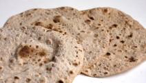 Receta de chapatis con harina atta
