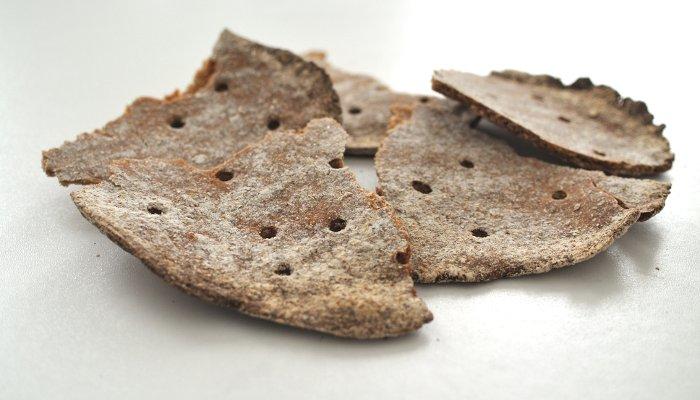 Receta de cracker de centeno integral