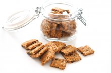 Receta de crackers con semillas