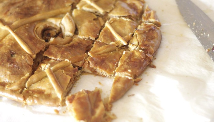 empanada gallega con harina de espelta