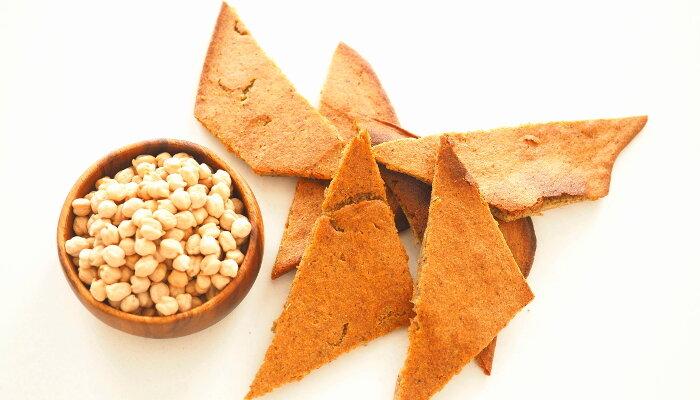 receta de socca con harina de garbanzos sin gluten