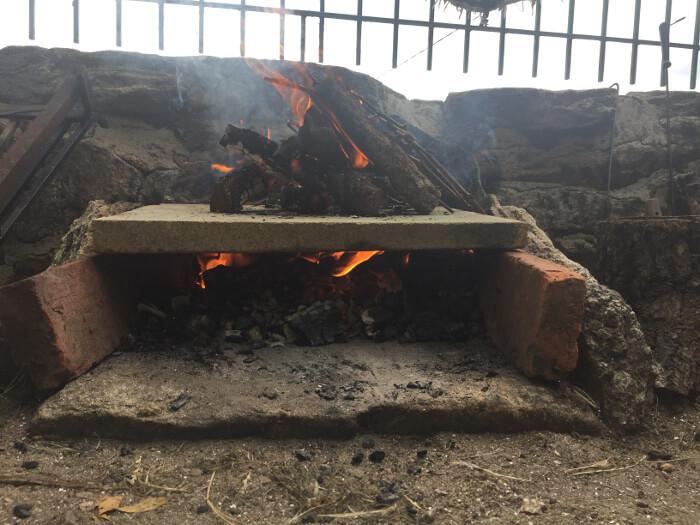 Cómo hacer un horno improvisado al aire libre