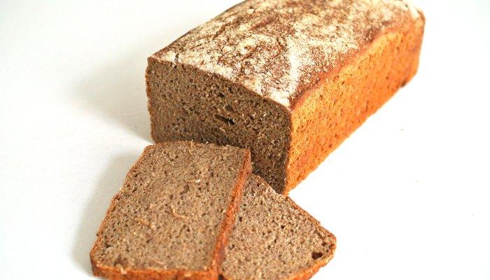 Receta de pan de centeno 100 integral