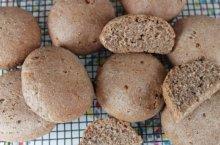 receta de molletes de Antequera integrales con harina de fuerza