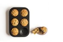 Receta de muffins de centeno y espelta