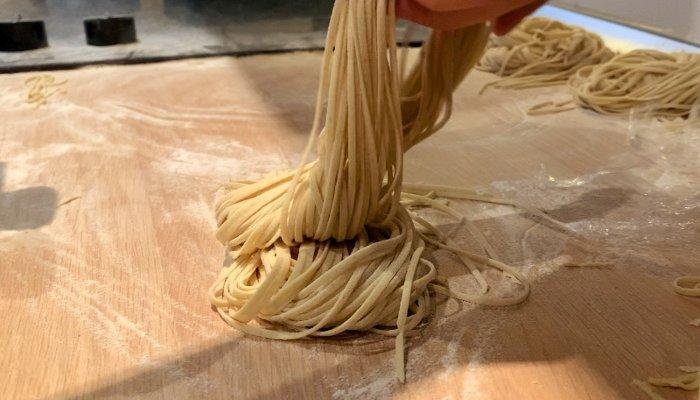 Noodles caseros para ramen