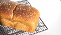 Receta de pan de molde con harina integral de centeno ecológica