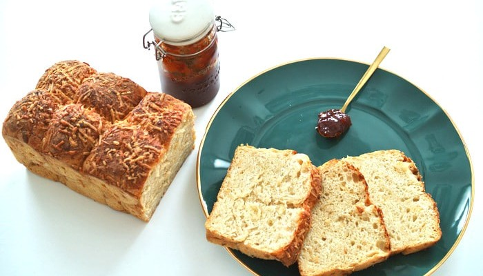 Receta de pan de queso y cebolla