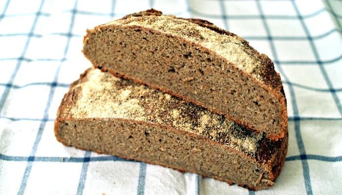 Receta de pan de centeno integral