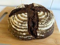 receta de pan de chocolate
