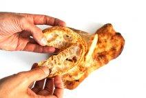 receta de pan de cristal paso a paso