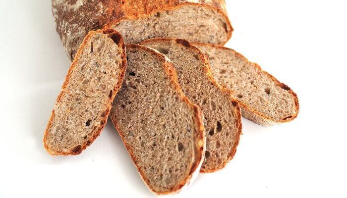 Receta de pan de pipas y harina integral