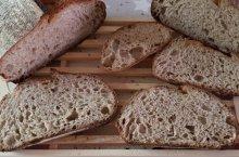 Receta de pan semi integral con masa madre de salvi sanchez