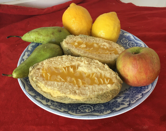 Receta de pan melon