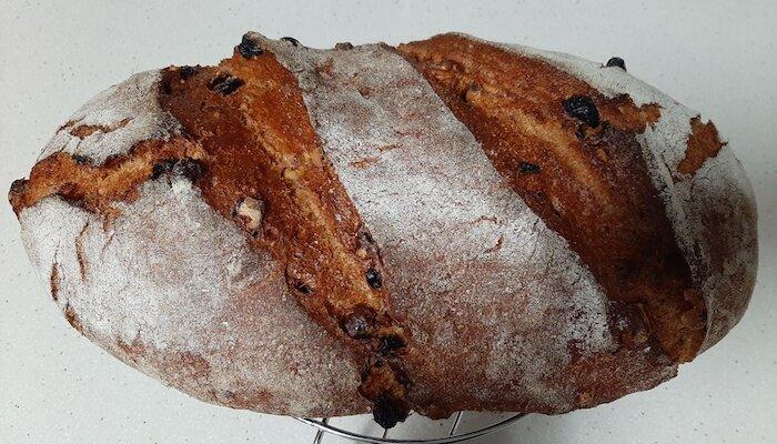 receta de pan con fermentación en horno de vapor