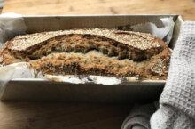 Receta de pan multicereales con semillas