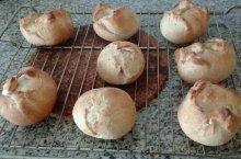 receta de panecillos con harina escaldada