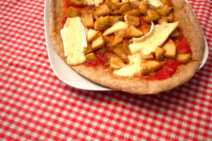 Receta de masa de pizza de espelta