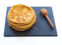 Receta de pancakes con harina de repostería