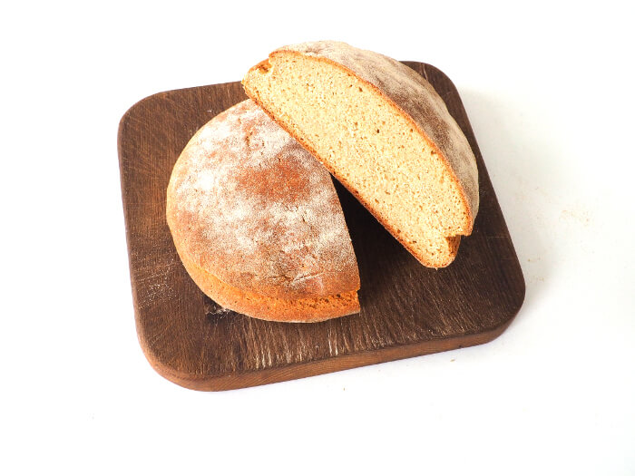 Receta de pan cateto con harina de trigo duro