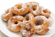 Receta de roscos fritos andaluces