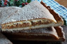 Receta de torta de la Virgen - Granada